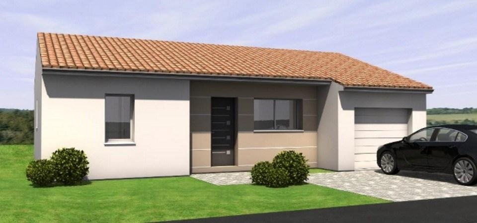 Maisons du constructeur LMP CONSTRUCTEUR • 71 m² • MESNARD LA BAROTIERE