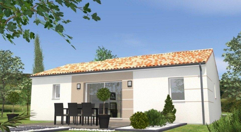 Maisons du constructeur LMP CONSTRUCTEUR • 65 m² • LES HERBIERS