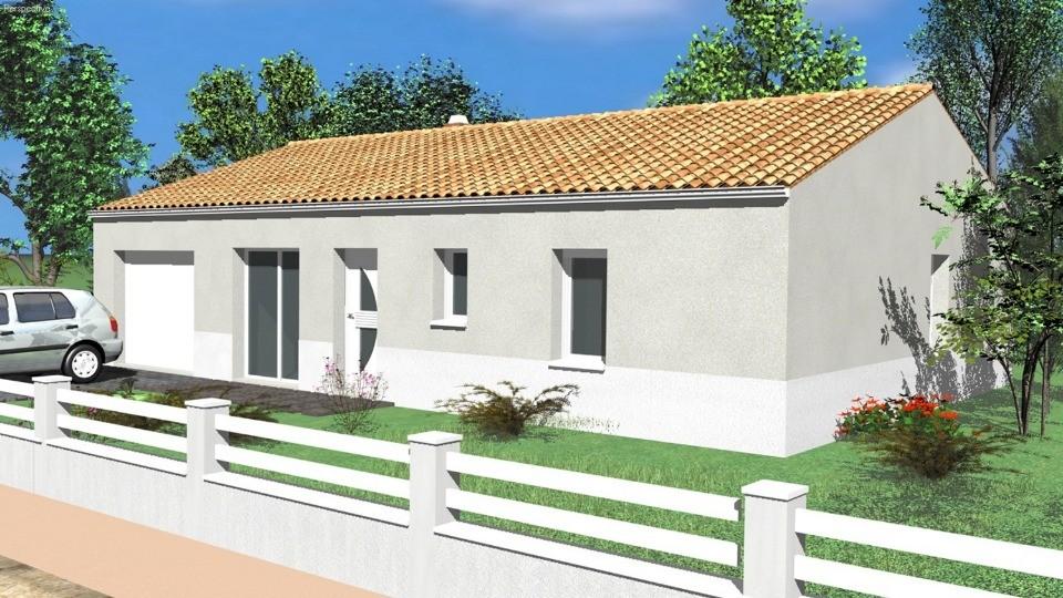 Maisons du constructeur LMP CONSTRUCTEUR • 84 m² • SAINT MARTIN DES TILLEULS