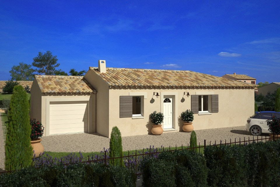 Maisons du constructeur LMP CONSTRUCTEUR • 90 m² • SAINT PAUL EN PAREDS