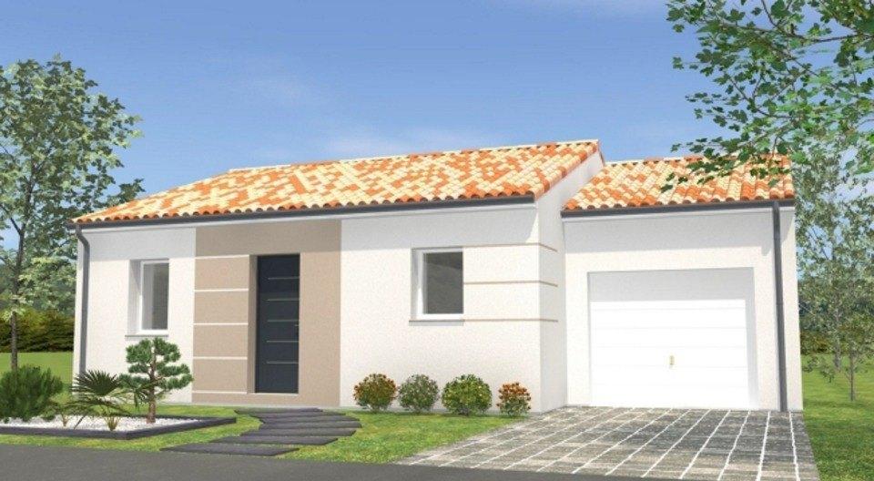 Maisons + Terrains du constructeur LMP CONSTRUCTEUR • 65 m² • SAINT PAUL EN PAREDS