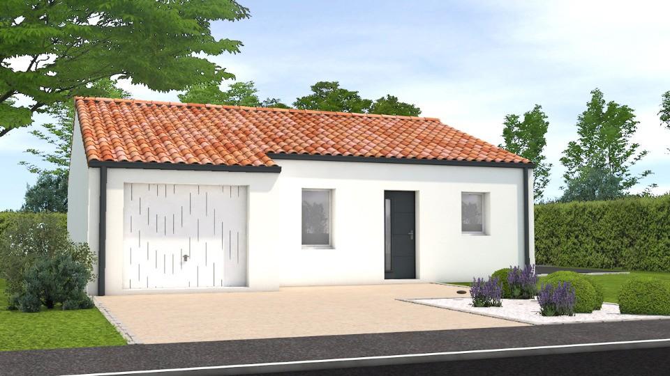 Maisons + Terrains du constructeur LMP CONSTRUCTEUR • 72 m² • MESNARD LA BAROTIERE