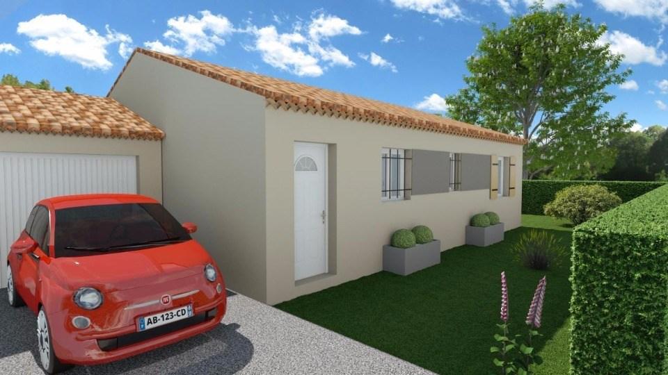 Maisons + Terrains du constructeur MAISONS FRANCE CONFORT • 80 m² • VILLENEUVE