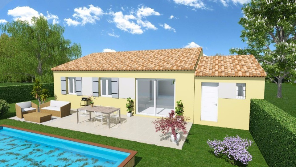 Maisons + Terrains du constructeur MAISONS FRANCE CONFORT • 73 m² • L'ESCALE