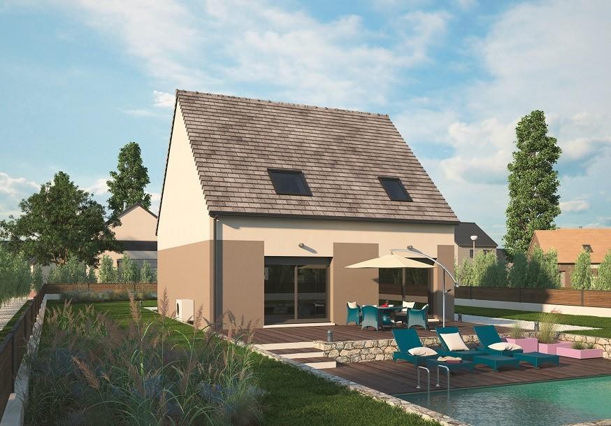Maisons + Terrains du constructeur MAISONS BALENCY • 113 m² • ANGERVILLIERS