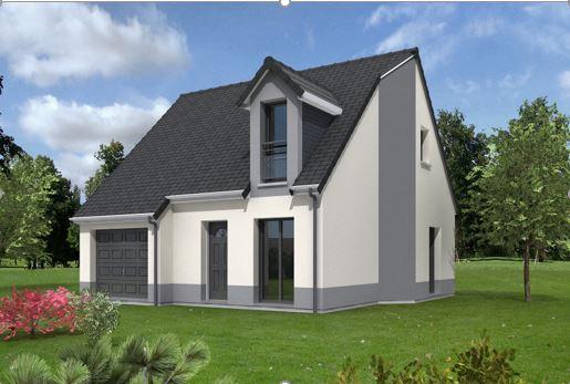 Maisons + Terrains du constructeur MAISONS MIMOSAS • 89 m² • DREUX