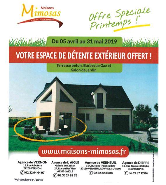 Maisons + Terrains du constructeur MAISONS MIMOSAS • 89 m² • VERNEUIL SUR AVRE