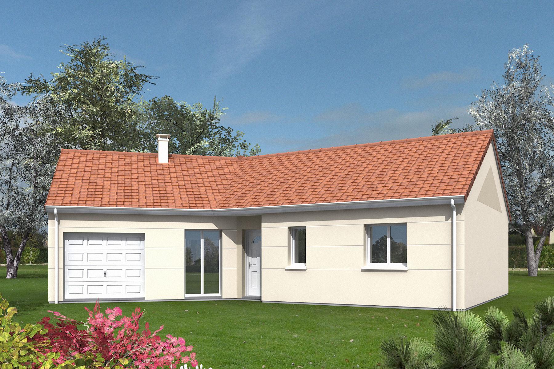 Maisons + Terrains du constructeur MAISONS MIMOSAS • 105 m² • ROSNY SUR SEINE