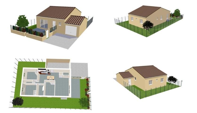Maisons du constructeur BTL • 80 m² • VIAS