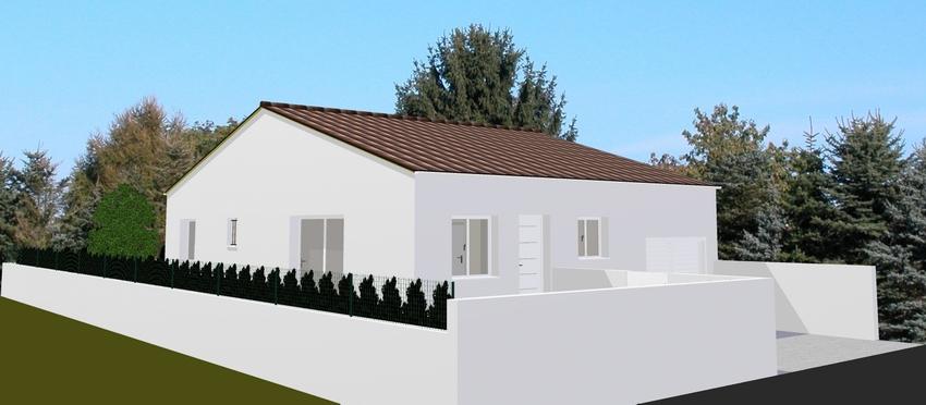 Maisons du constructeur BTL • 80 m² • COURNONTERRAL