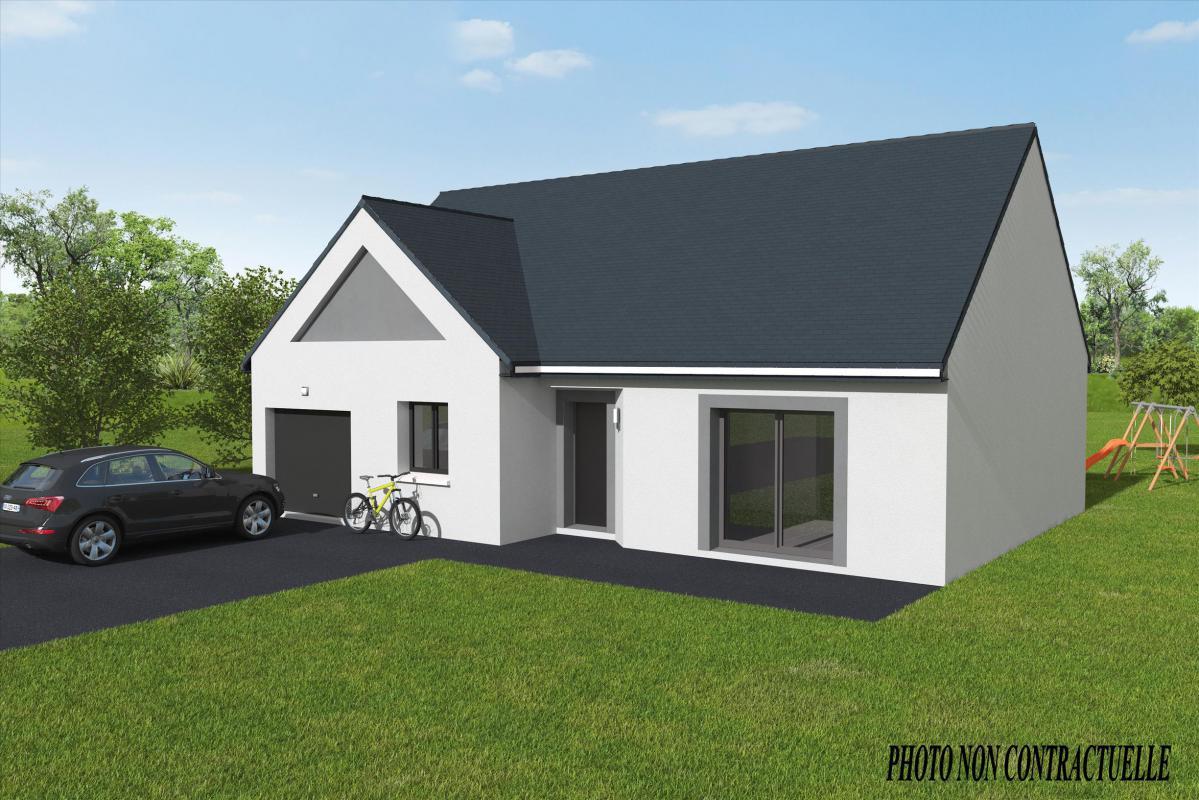Maisons + Terrains du constructeur MAISONS AXCESS • 87 m² • SAINT MARTIN DE VARREVILLE