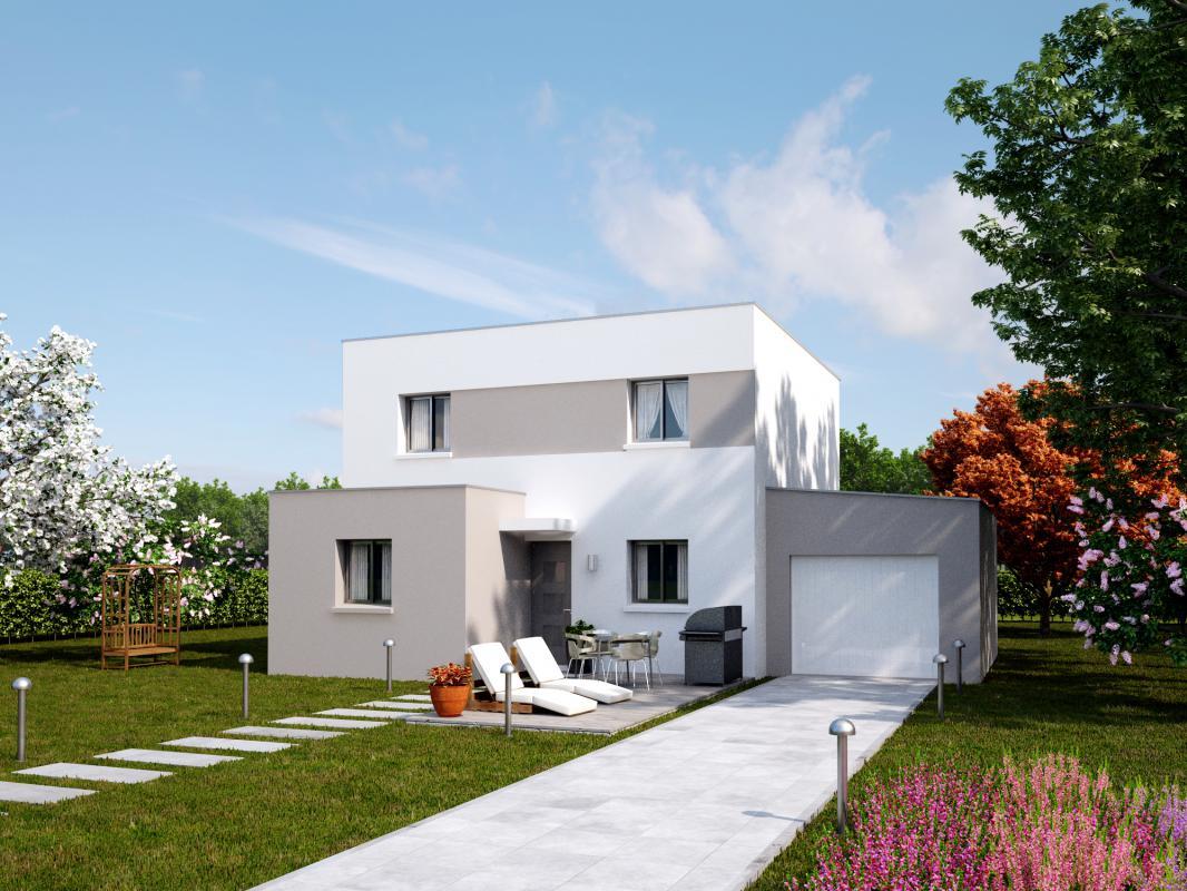 Maisons + Terrains du constructeur MAISONS AXCESS • 121 m² • VALOGNES