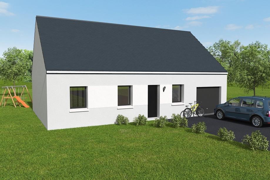 Maisons + Terrains du constructeur MAISONS AXCESS •  m² • VALOGNES