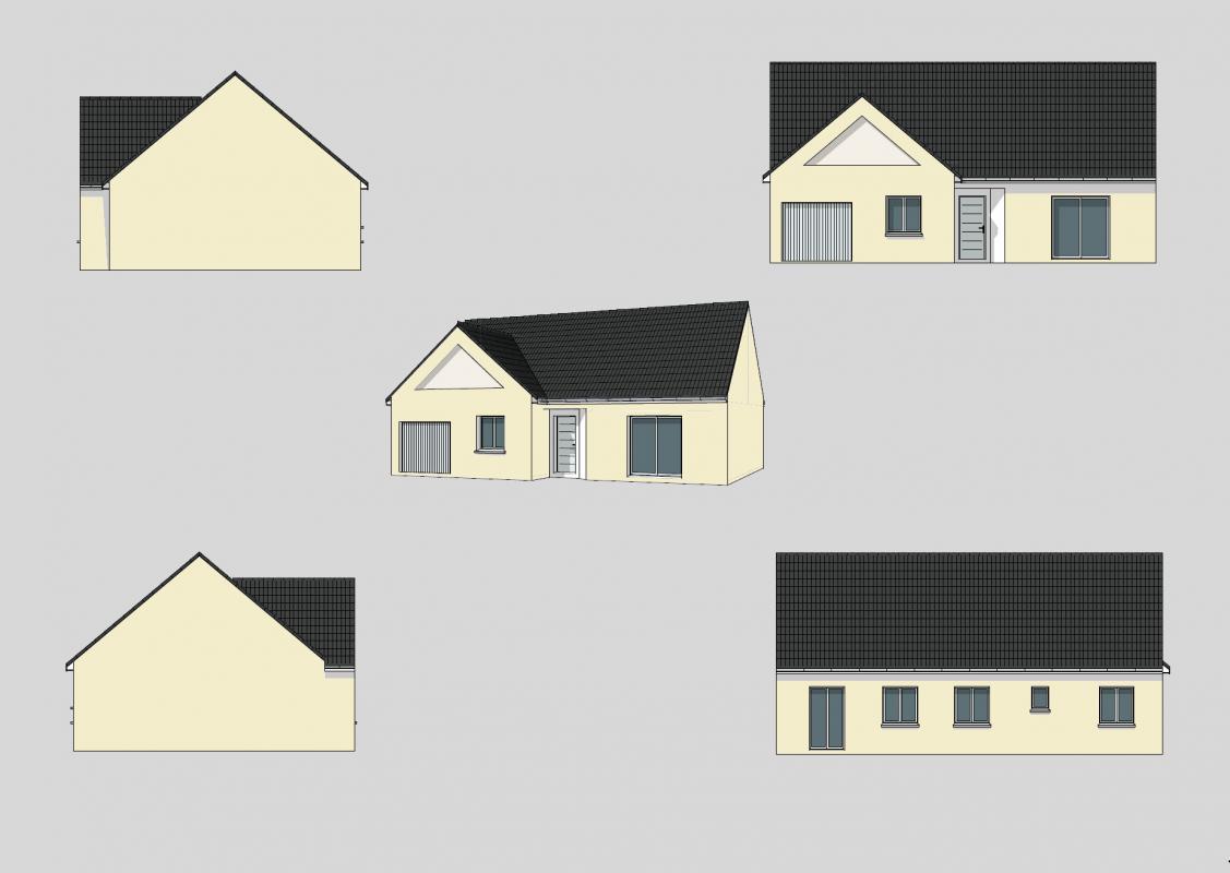 Maisons + Terrains du constructeur MAISONS AXCESS • 87 m² • SAINT SYMPHORIEN LE VALOIS