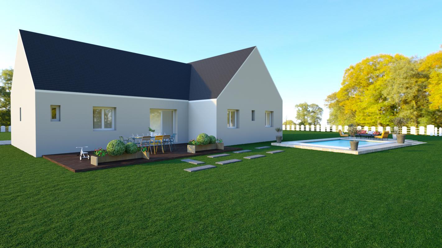 Maisons + Terrains du constructeur MAISONS AXCESS • 87 m² • MONTCHATON