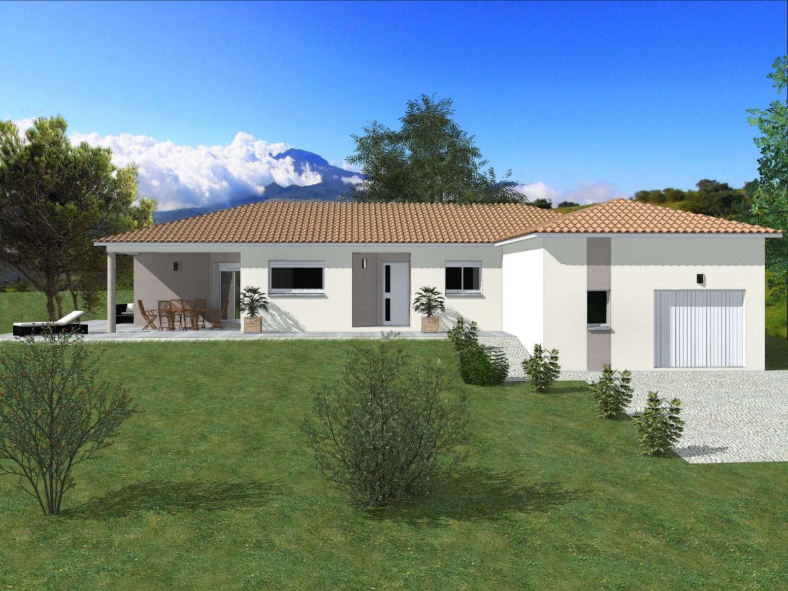 Maisons + Terrains du constructeur TRADIBATI CONSTRUCTIONS •  m² • VEAUNES