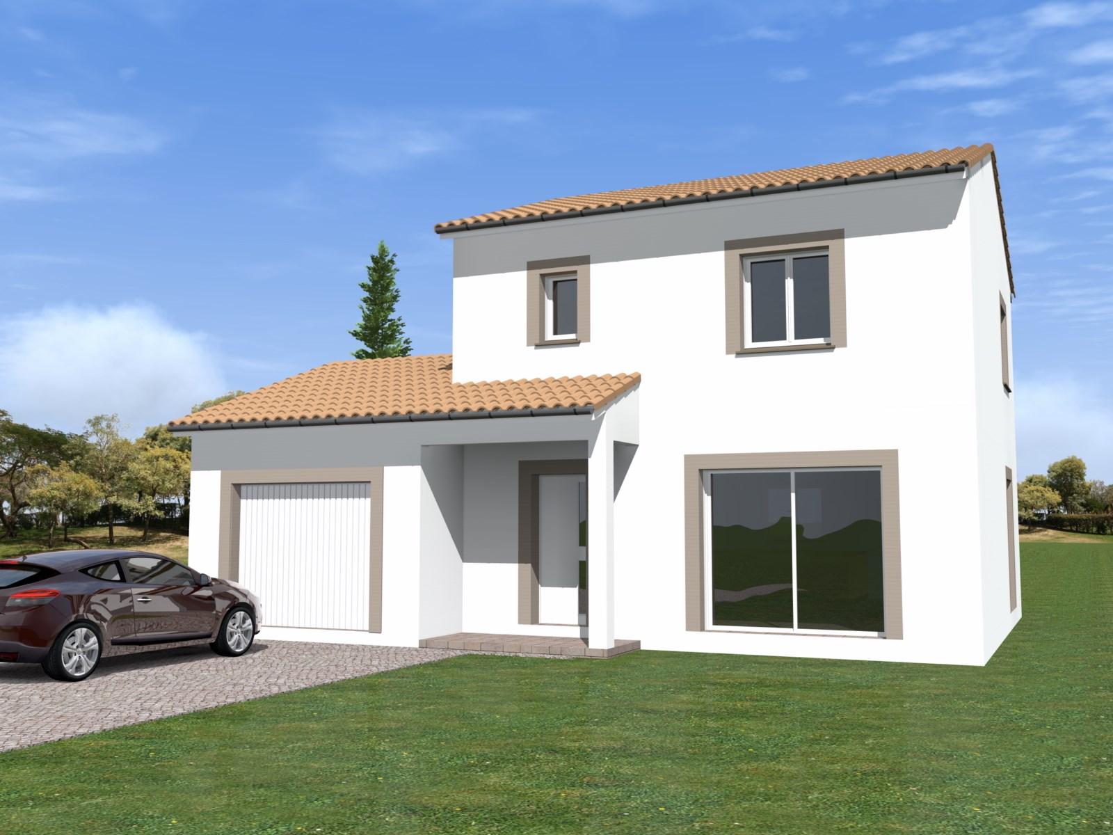 Maisons + Terrains du constructeur TRADIBATI CONSTRUCTIONS • 90 m² • GRANE