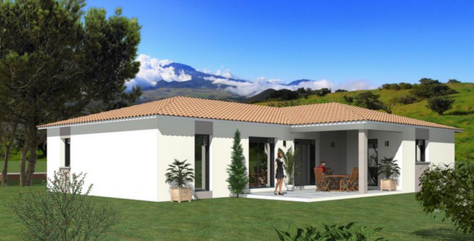 Maisons + Terrains du constructeur TRADIBATI CONSTRUCTIONS •  m² • BEAUMONT LES VALENCE