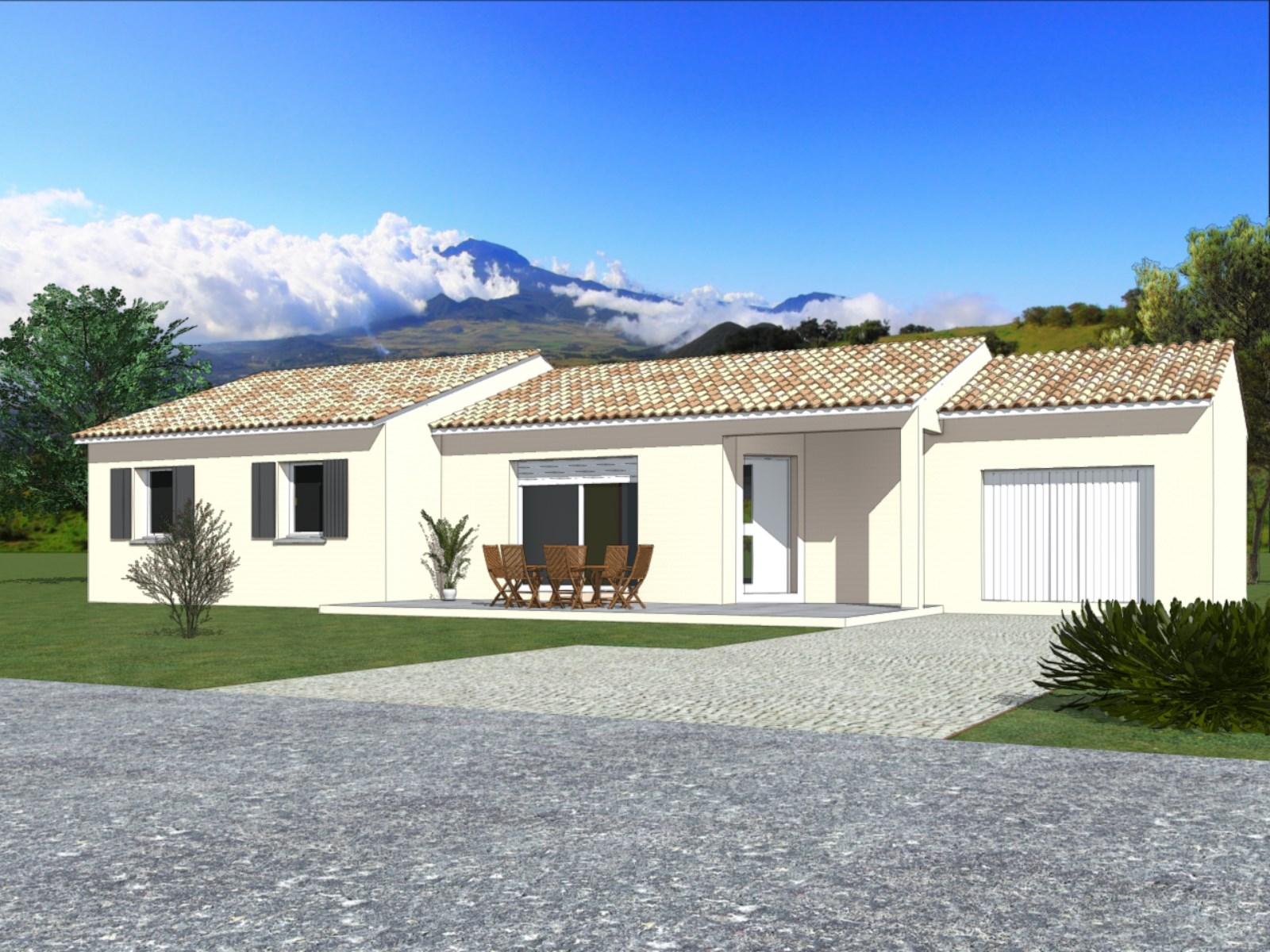 Maisons + Terrains du constructeur TRADIBATI CONSTRUCTIONS •  m² • PEYRINS
