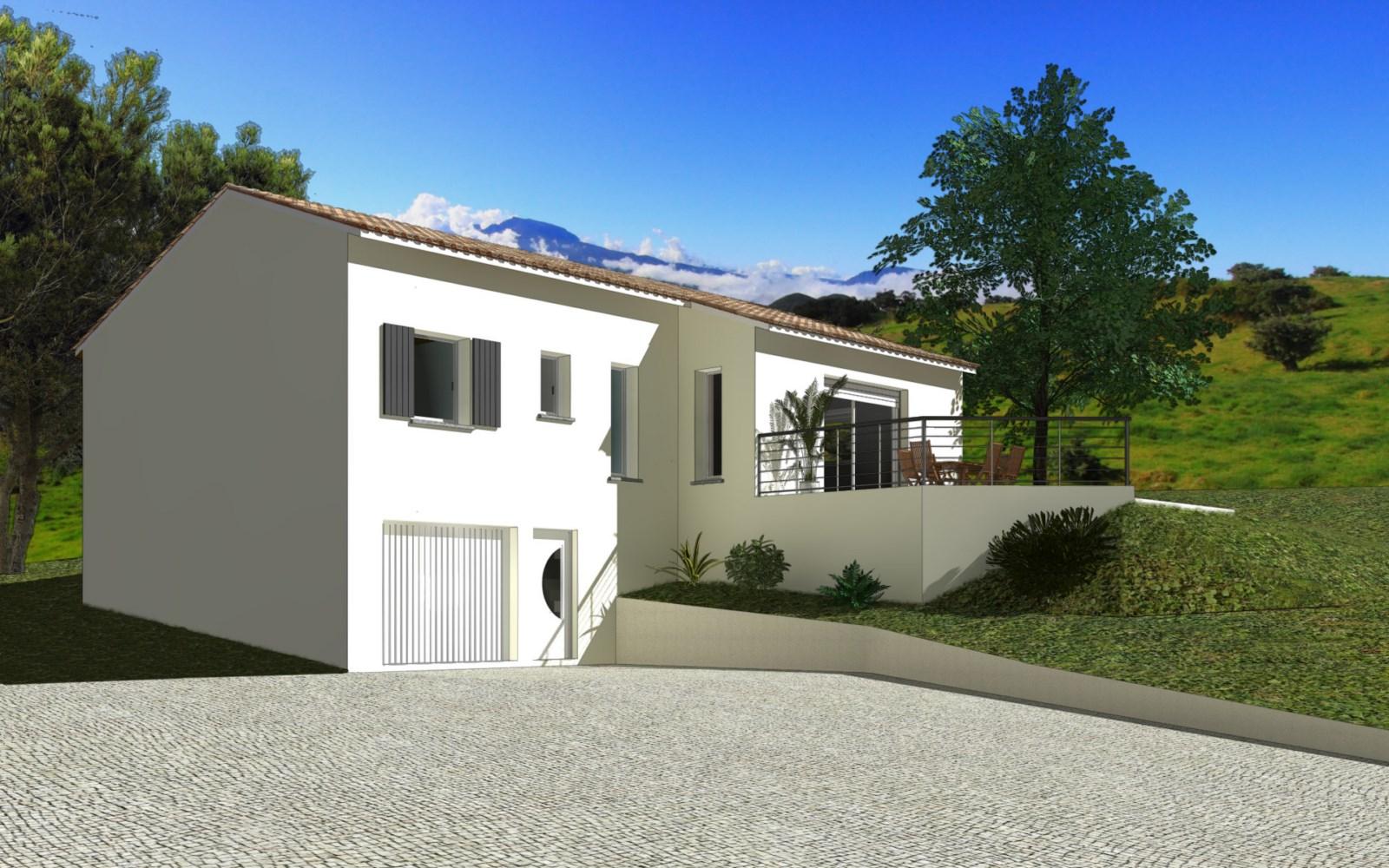 Maisons + Terrains du constructeur TRADIBATI CONSTRUCTIONS • 90 m² • CREST