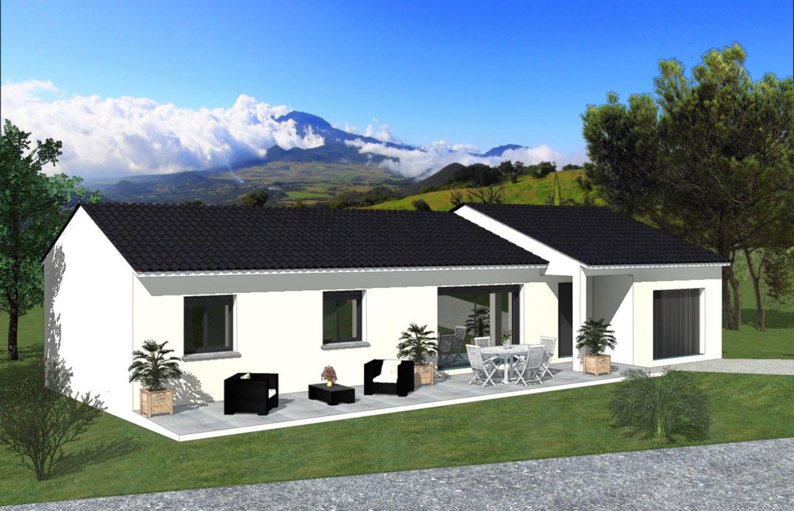 Maisons + Terrains du constructeur TRADIBATI CONSTRUCTIONS • 90 m² • VALENCE