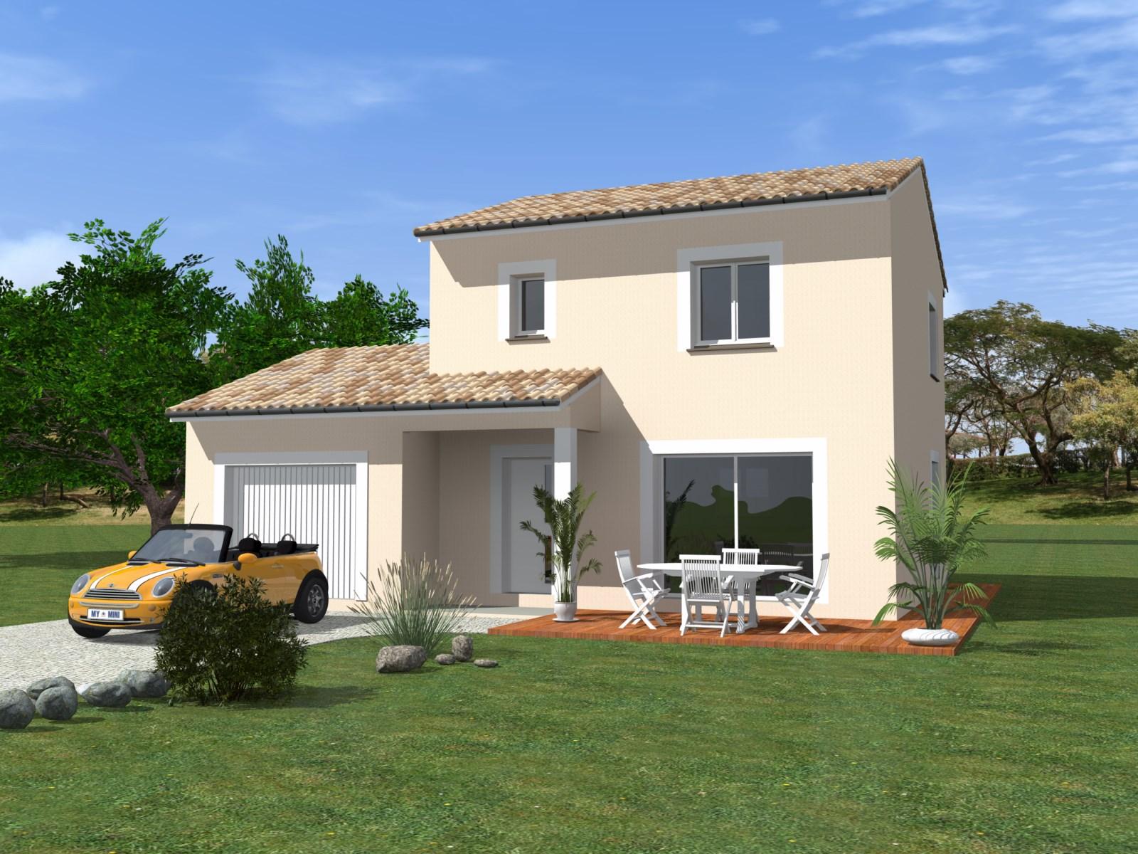 Maisons + Terrains du constructeur TRADIBATI CONSTRUCTIONS • 90 m² • CHATUZANGE LE GOUBET
