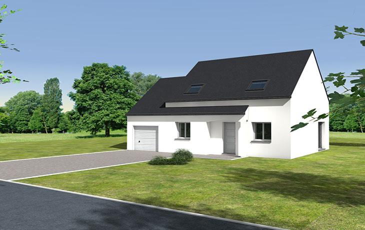 Maisons du constructeur CARRENEUF - AGENCES ANGERS-CHOLET SAUM • SAINT MELAINE SUR AUBANCE