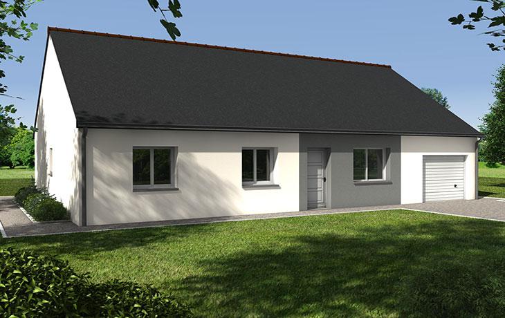 Maisons du constructeur CARRENEUF - AGENCES ANGERS-CHOLET SAUM • NEUILLE