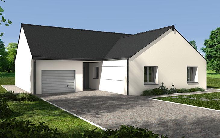 Maisons du constructeur CARRENEUF - AGENCES ANGERS-CHOLET SAUM • ECOUFLANT