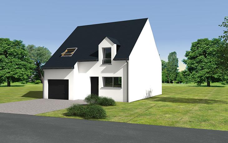Maisons du constructeur CARRENEUF - AGENCES ANGERS-CHOLET SAUM • GENNES
