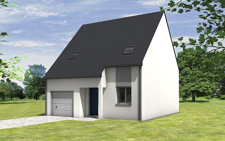 Maisons du constructeur CARRENEUF - AGENCES ANGERS-CHOLET SAUM • LONGUE JUMELLES