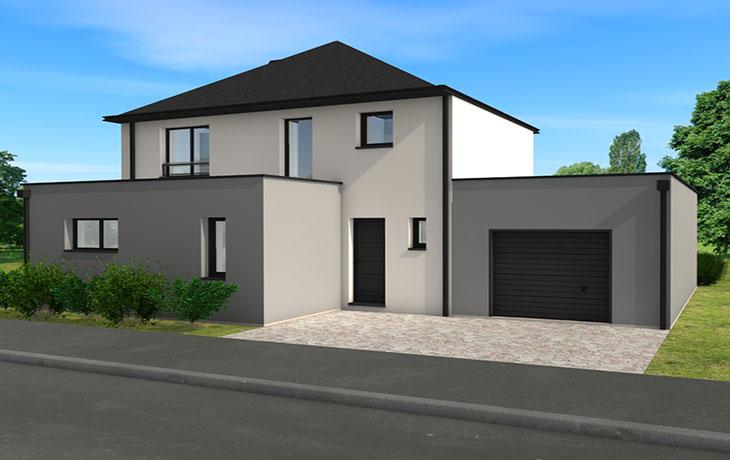 Maisons du constructeur CARRENEUF - AGENCES ANGERS-CHOLET SAUM • SAINT LAMBERT DES LEVEES