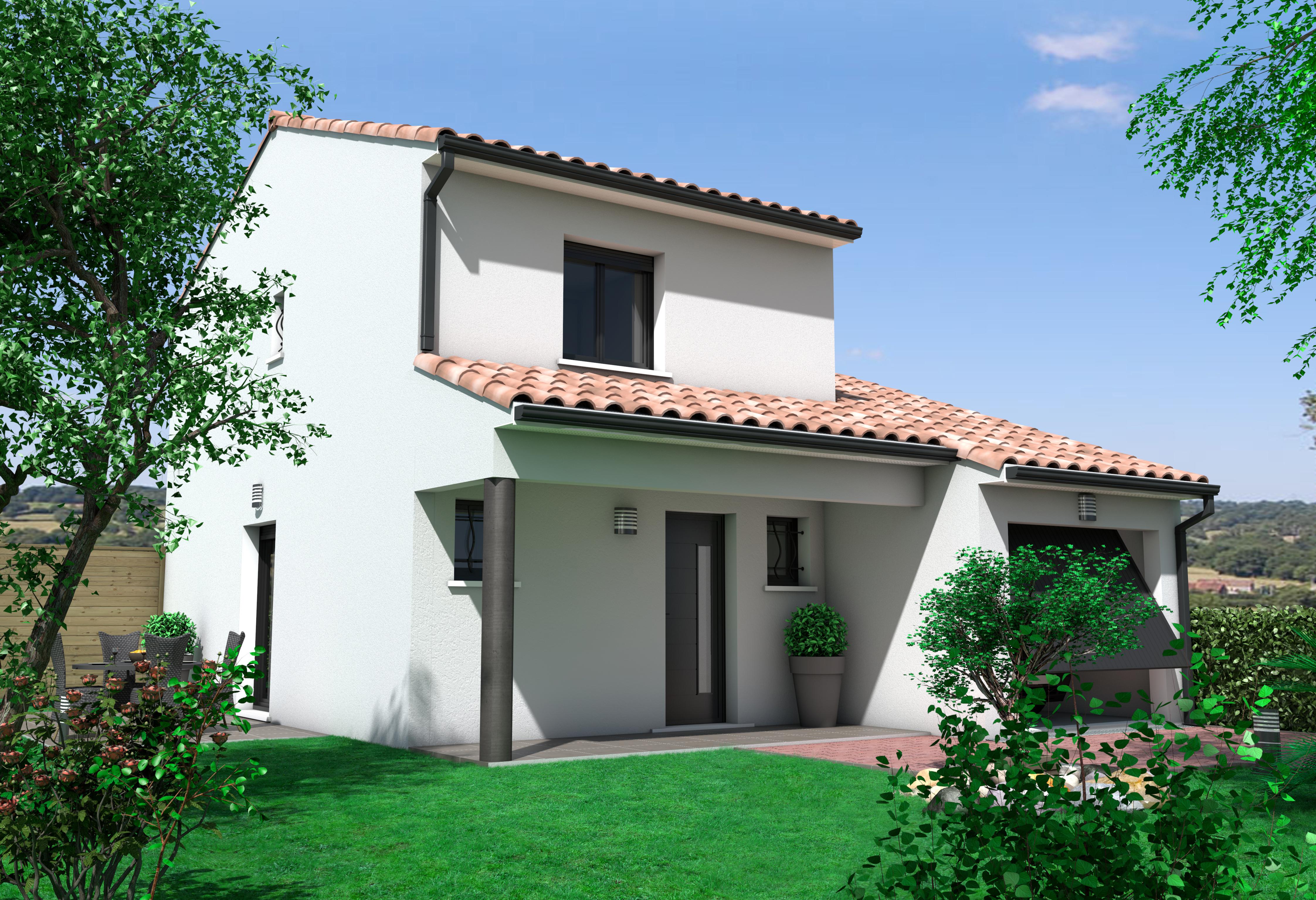 Maisons + Terrains du constructeur OC  RESIDENCES • 88 m² • BESSAN