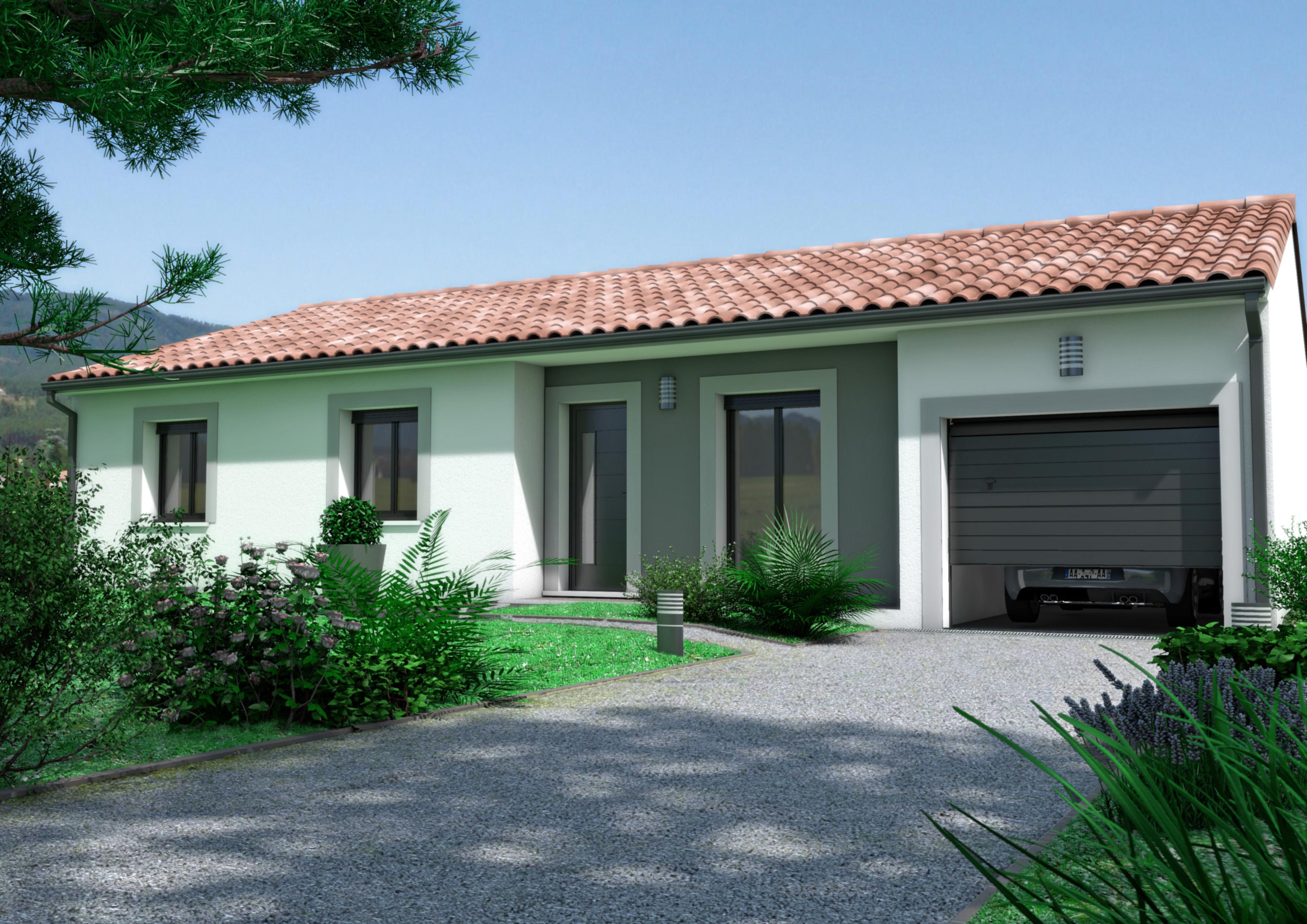 Maisons + Terrains du constructeur OC  RESIDENCES • 100 m² • BEZIERS
