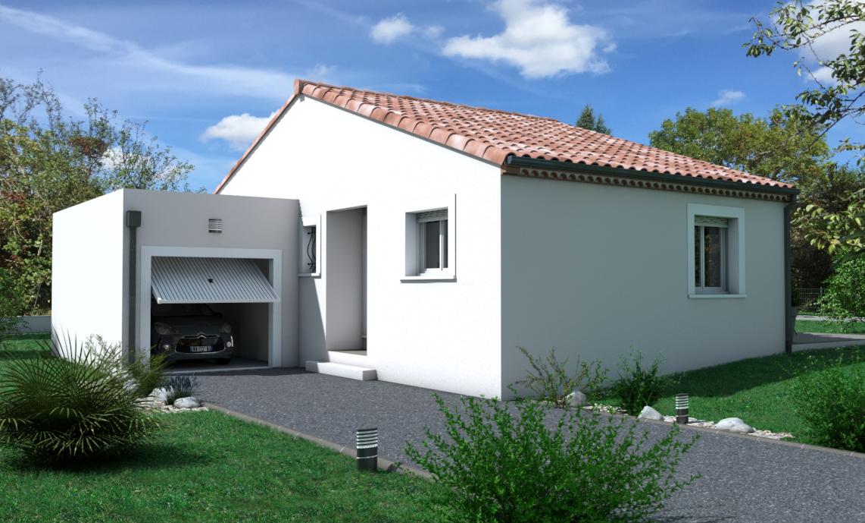 Maisons + Terrains du constructeur OC  RESIDENCES • 82 m² • BESSAN