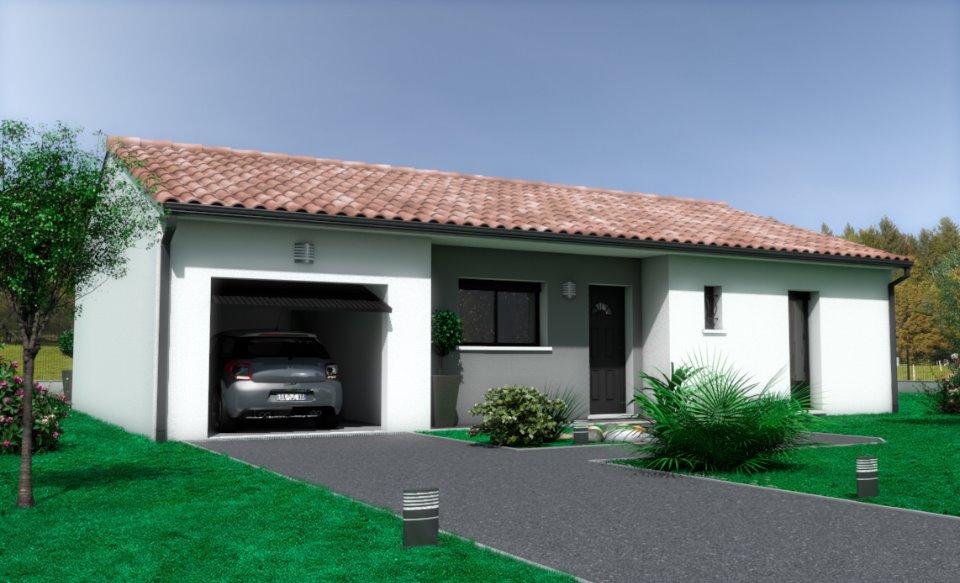 Maisons + Terrains du constructeur OC  RESIDENCES • 91 m² • TOURBES