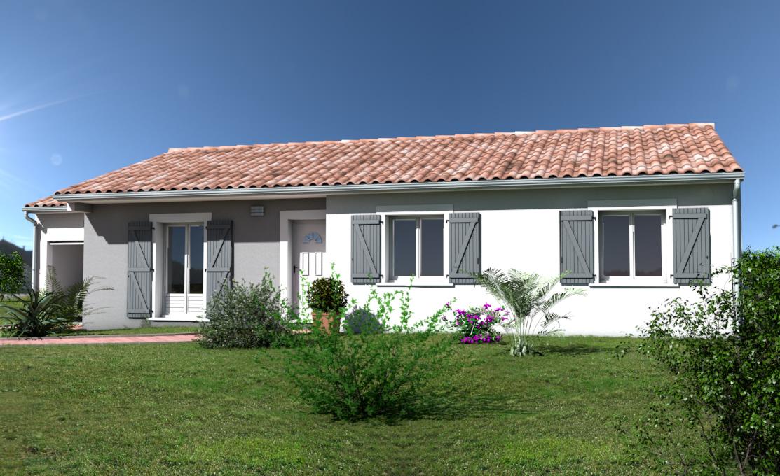 Maisons + Terrains du constructeur OC  RESIDENCES • 89 m² • SERVIAN
