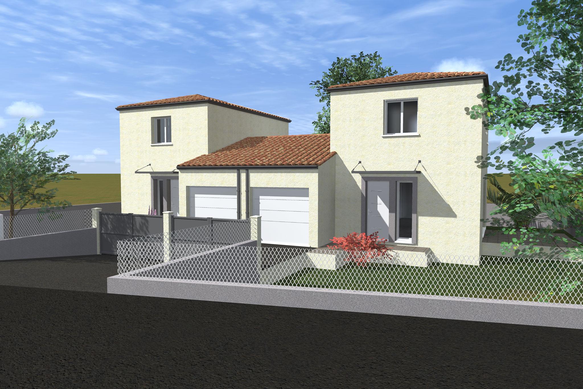 Maisons du constructeur CAP CONSTRUCTION • 91 m² • BEZIERS