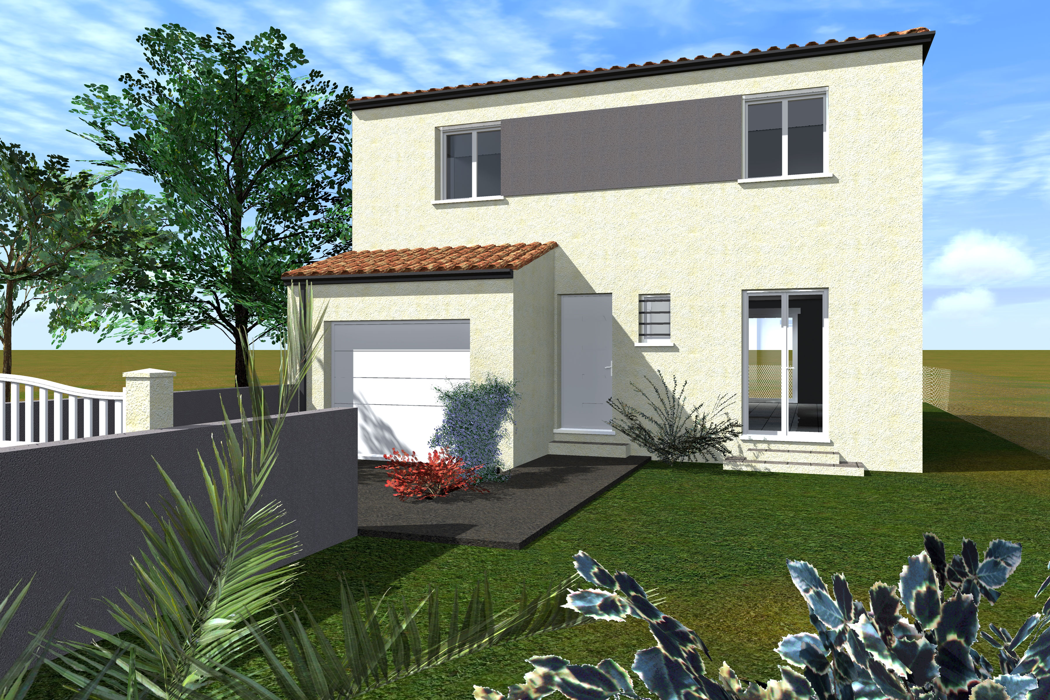 Maisons du constructeur CAP CONSTRUCTION • 120 m² • LIEURAN LES BEZIERS