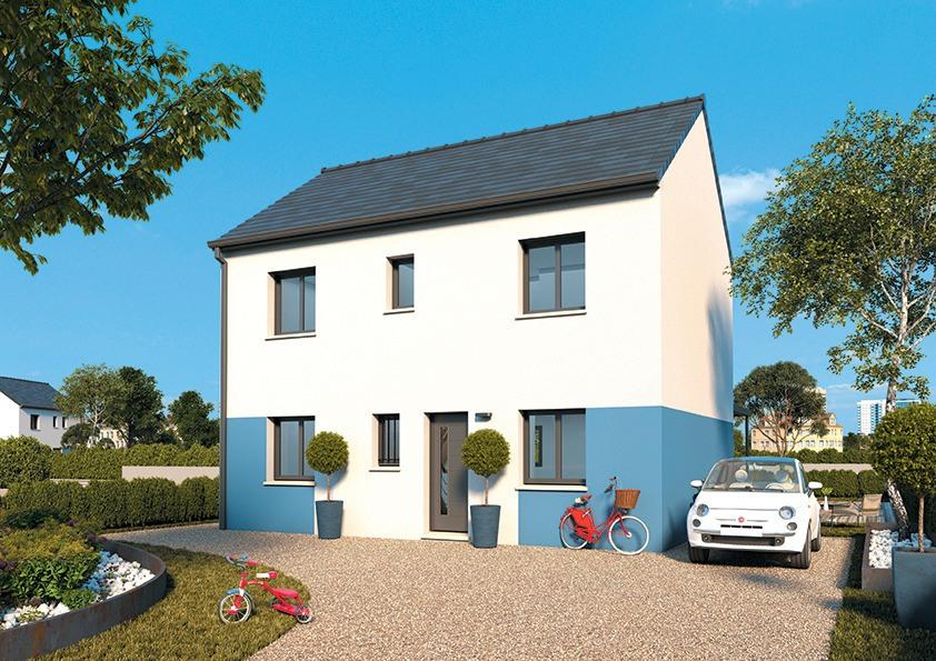 Maisons + Terrains du constructeur MAISONS FRANCE CONFORT • 95 m² • AULNAY SOUS BOIS