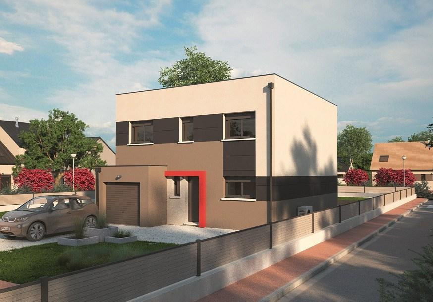 Maisons + Terrains du constructeur MAISONS BALENCY • 128 m² • YERVILLE