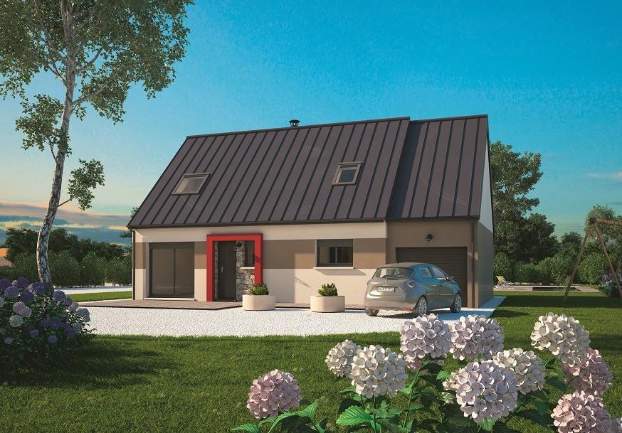 Maisons + Terrains du constructeur MAISONS BALENCY • 100 m² • MARTAINVILLE EPREVILLE