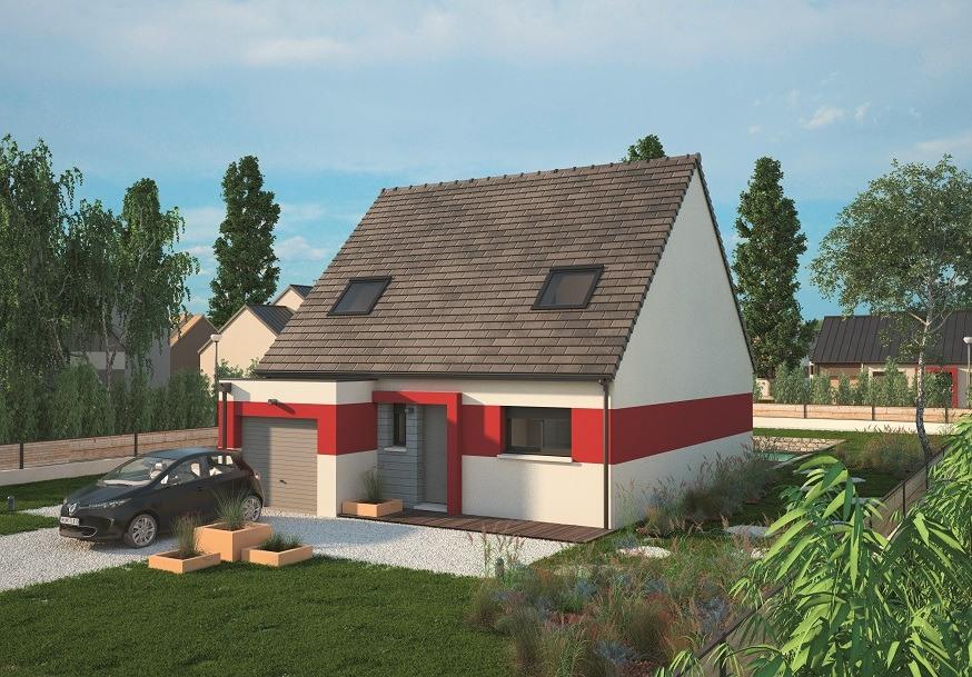 Maisons + Terrains du constructeur MAISONS BALENCY • 115 m² • SAINT ROMAIN DE COLBOSC