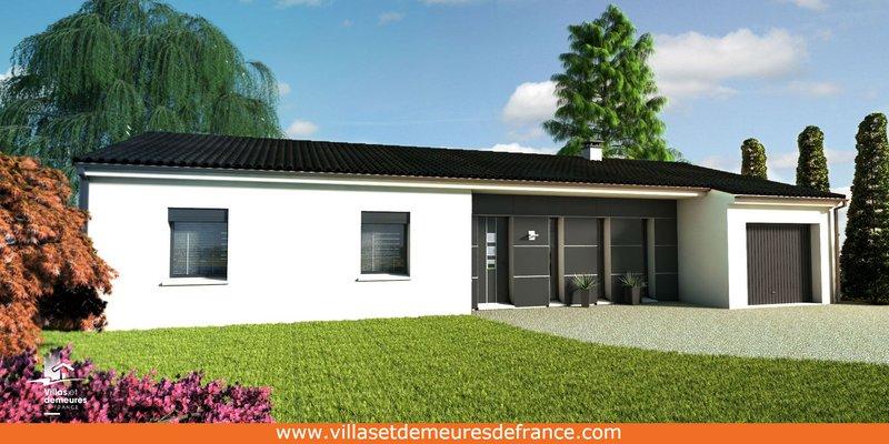 Maisons du constructeur VILLAS ET DEMEURES DE FRANCE • 90 m² • BRESSUIRE