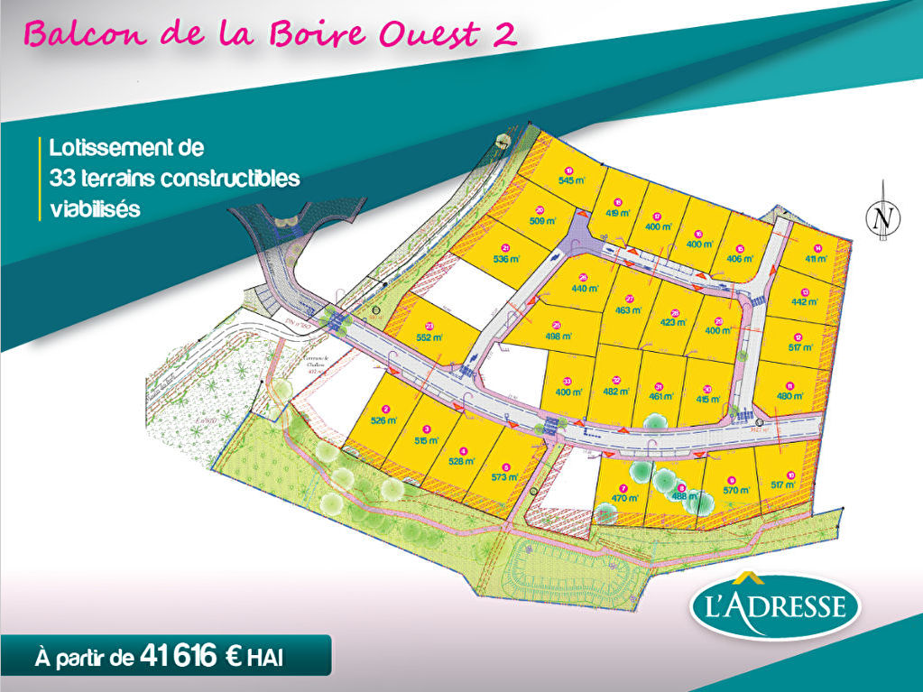 Terrains du constructeur L ADRESSE CHALLANS • 447 m² • CHALLANS