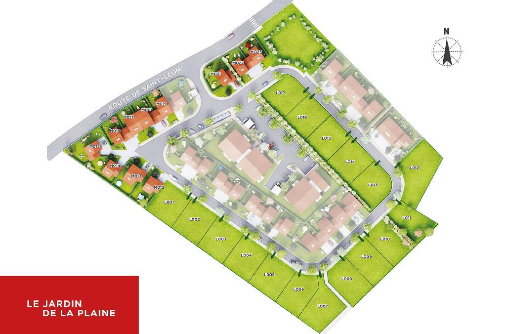 Terrains du constructeur EUROPEAN HOMES FRANCE • 479 m² • AYGUESVIVES