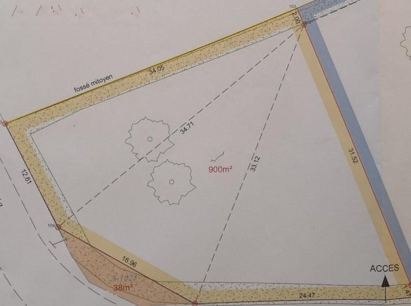 Terrains du constructeur SAFTI • 900 m² • SAINT JEAN DE LIVERSAY