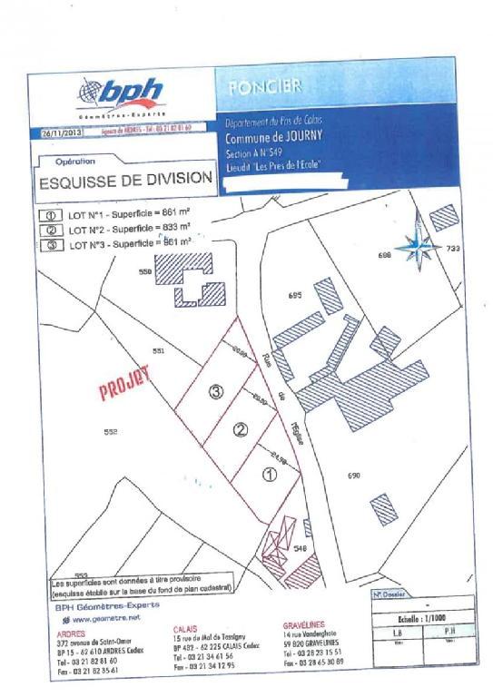 Terrains du constructeur SCP COLLETTE PATEY BERTIN ET MARTINE • 0 m² • JOURNY