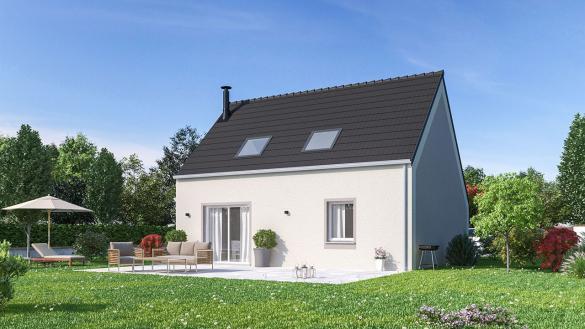 Maison+Terrain à vendre .(84 m²)(JANVILLE) avec (MAISONS PHENIX)