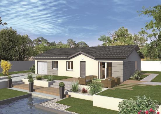 Maison+Terrain à vendre .(78 m²)(LES EPARRES) avec (MAISONS PUNCH BOURGOIN)